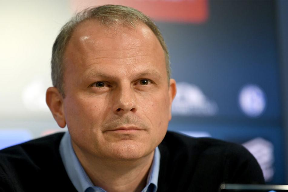 Schalke Sportvorstand Jochen Schneider (48) wird künftig gemeinsam mit Reschke die Geschicke des Clubs lenken.