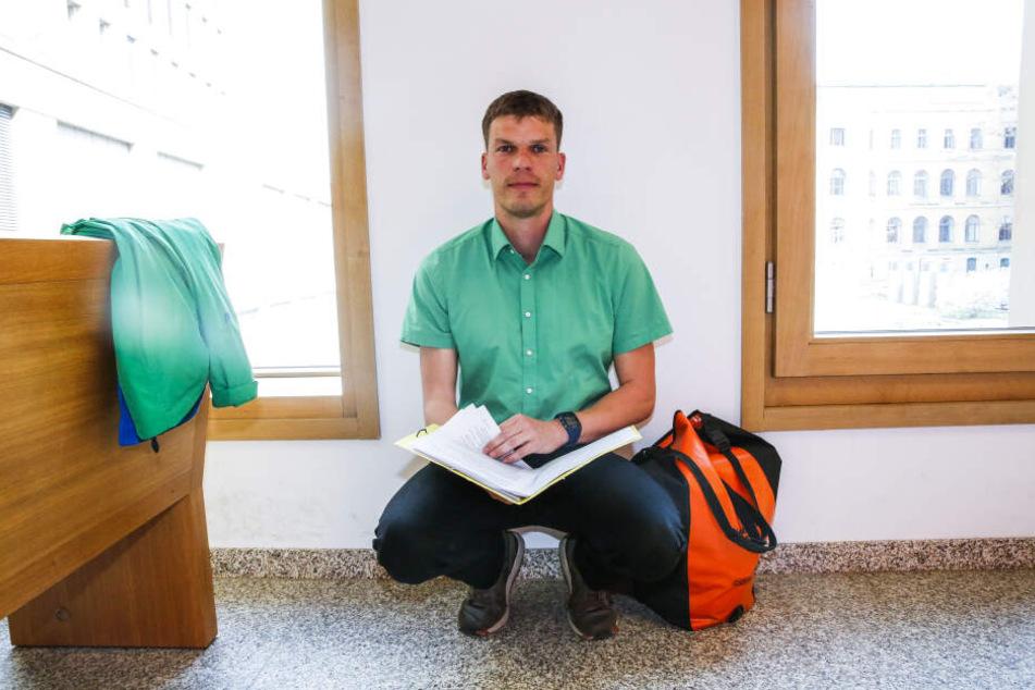 Polizist Matthias R. (37) ermittelte gegen den Betrügerring, der europaweit agiert.
