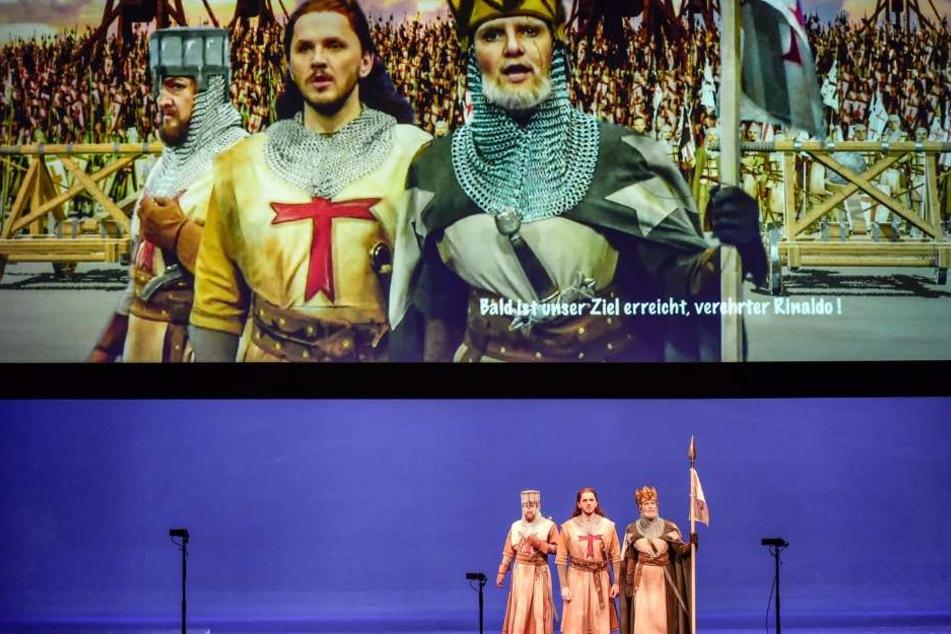 Chemnitzer Oper wird zum Action-Knaller