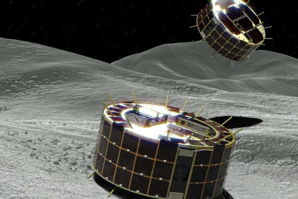 Ein großer Schritt: Erstmals Sonde auf Asteroid gelandet