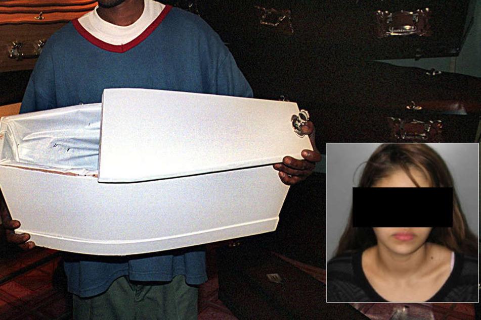 20-jährige Iris Hernandez Rivas soll ihre Tochter so sehr getreten haben, dass sie starb.