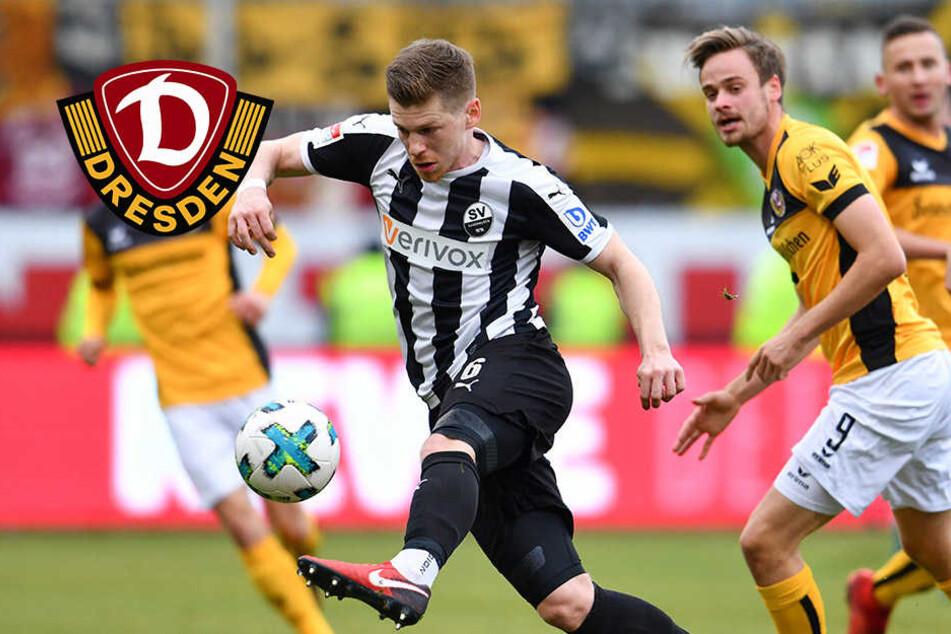 Fehlstart perfekt! Dynamo bleibt in Sandhausen weiter sieglos