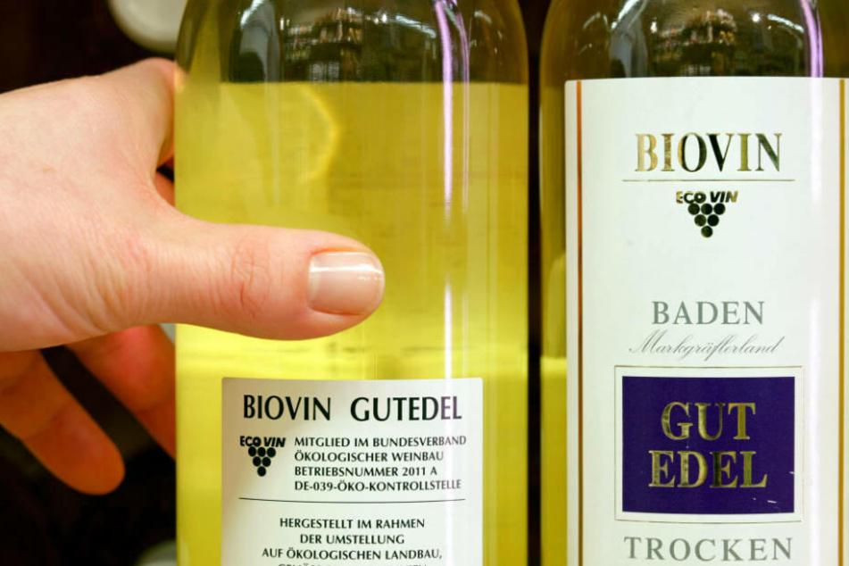 Greift auch im Weinregal lieber zu den Bio-Produkten.