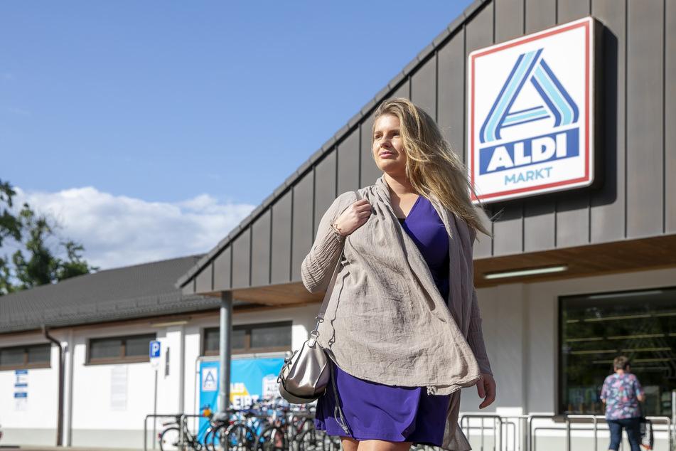 Chiara S. (23) aus Dresden wurde im Aldi-Supermarkt übel beleidigt.