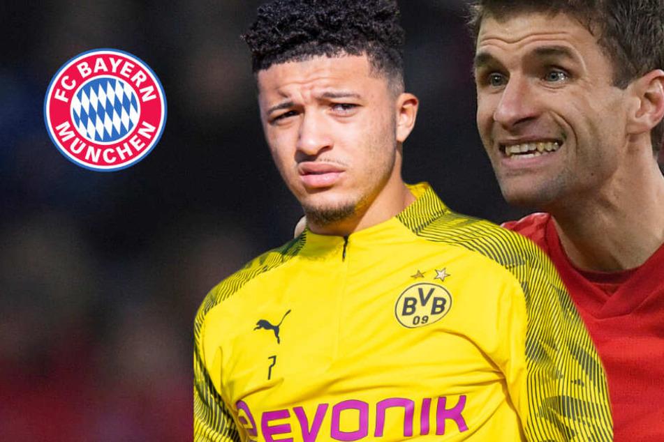 Thomas Müller schwärmt vom Dortmunder Jadon Sancho