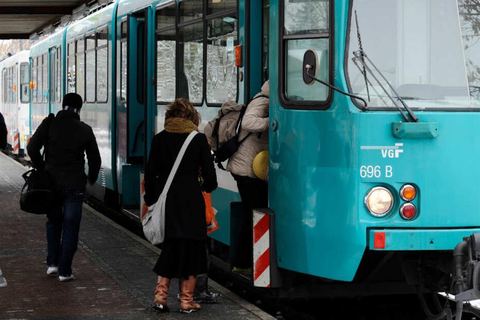 Grippe-Welle: Ausfälle bei Straßenbahnen und U-Bahnen in Frankfurt