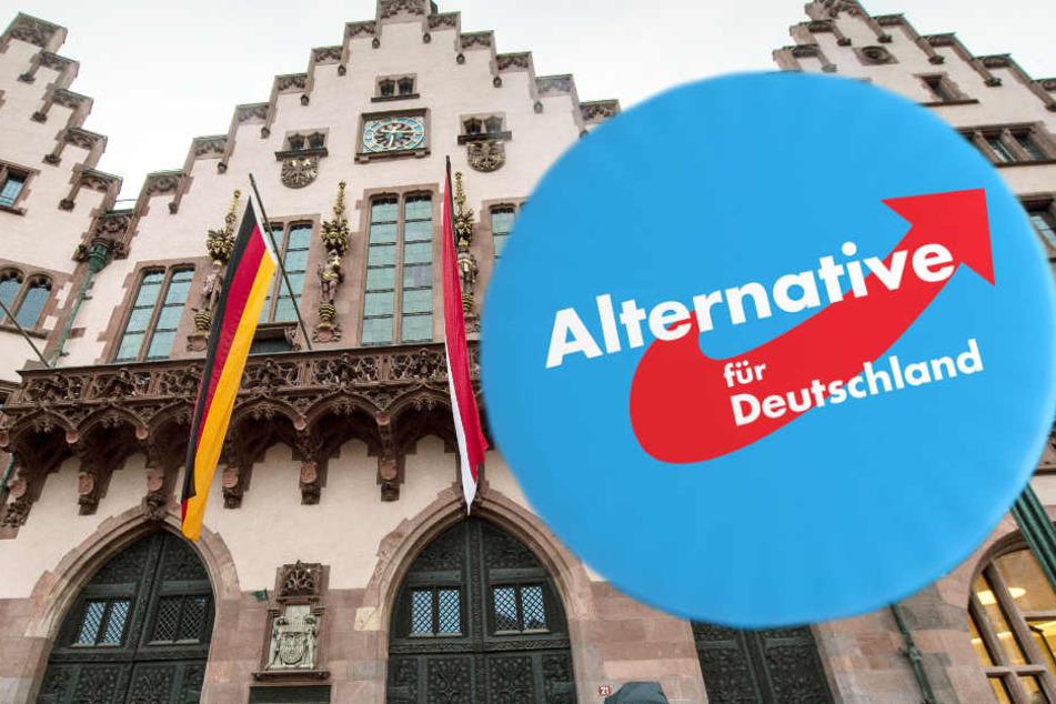 Der Römer ist der Sitz des Frankfurter Stadtparlaments. Hier sorgte ein AfD-Politiker für einen frauenfeindlichen Eklat.