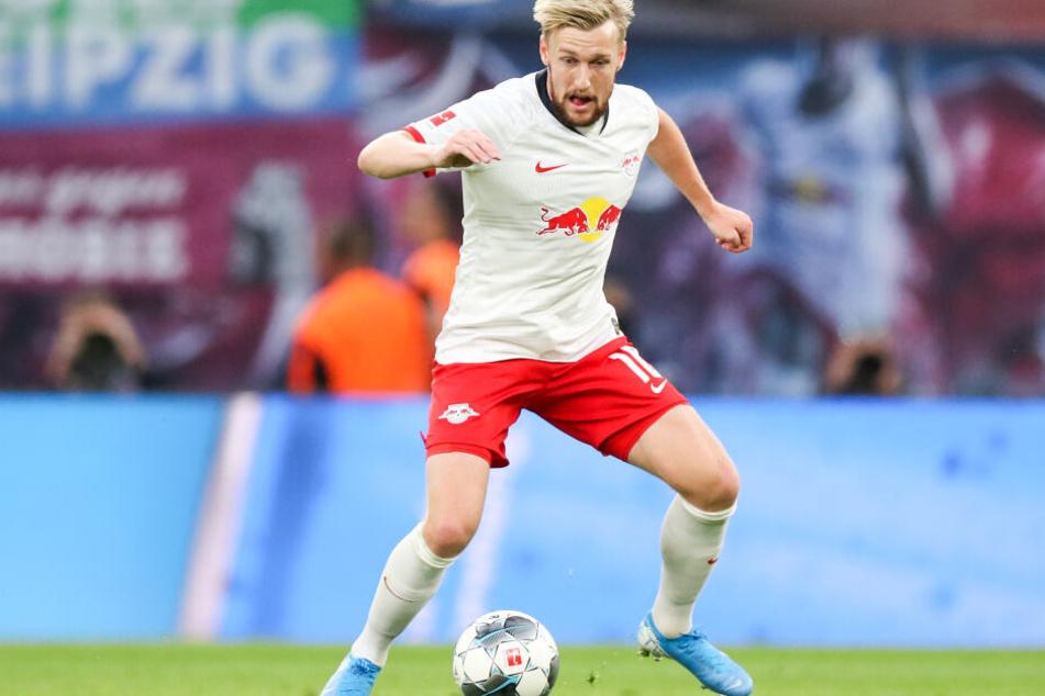 Kann am Mittwochabend Geschichte schreiben: RB-Star Emil Forsberg.