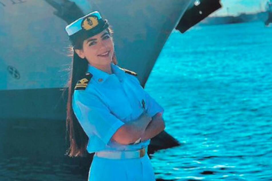Not only is she Egypt's first female captain, Marwa Elselehdar was the youngest Arab female shipmaster, earned an MBA, and was the first female shipmaster to navigate the Suez Canal.