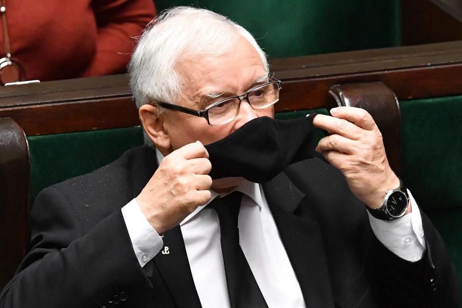 Jaroslaw Kaczynski (71), Vizeministerpräsident von Polen und Vorsitzender der Regierungspartei Recht und Gerechtigkeit (PiS).