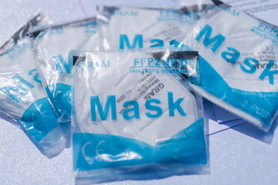 FFP-2-Masken müssen richtig angewandt werden.