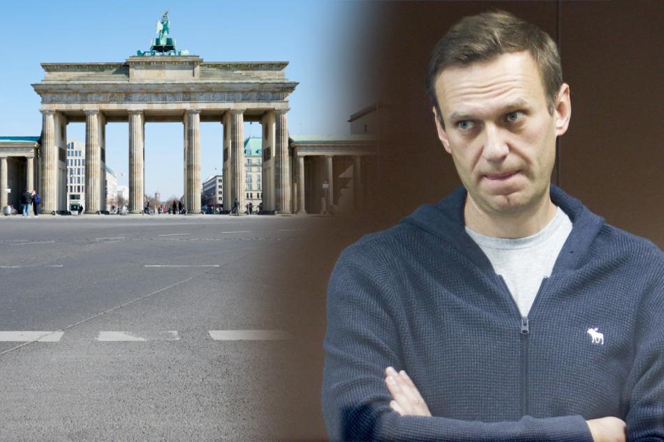 Protestzeltlager für Nawalnys Freilassung in Berlin beginnt heute!