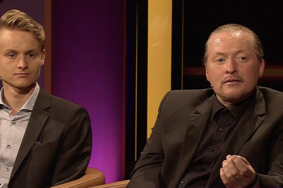 """Joey Kelly war mit seinem Sohn Luke im """"Riverboat"""" zu Gast."""