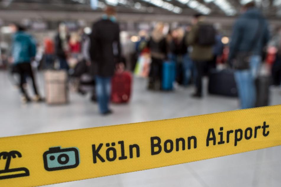 Der angekündigte Streik soll auch den Kölner Flughafen treffen.