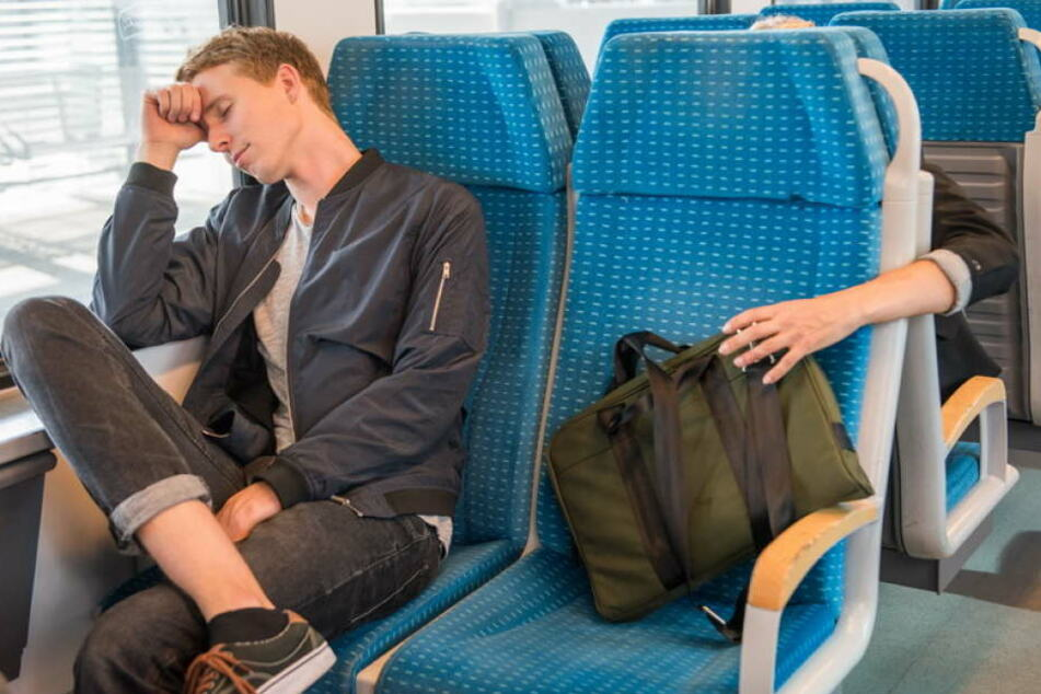 Auch in Zügen sind Taschendieben unterwegs.