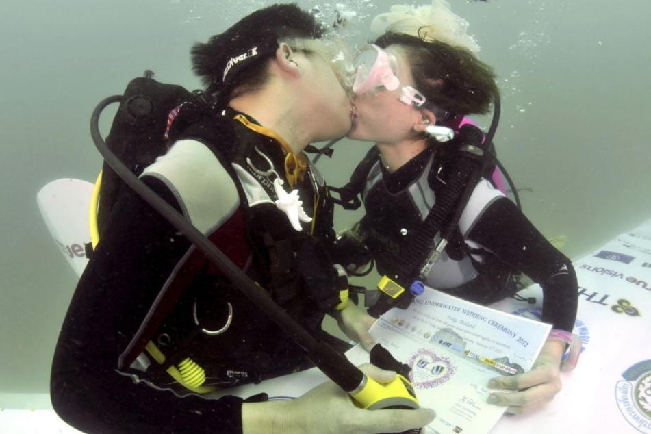 Unter Wasser! Hier könnt Ihr jetzt heiraten