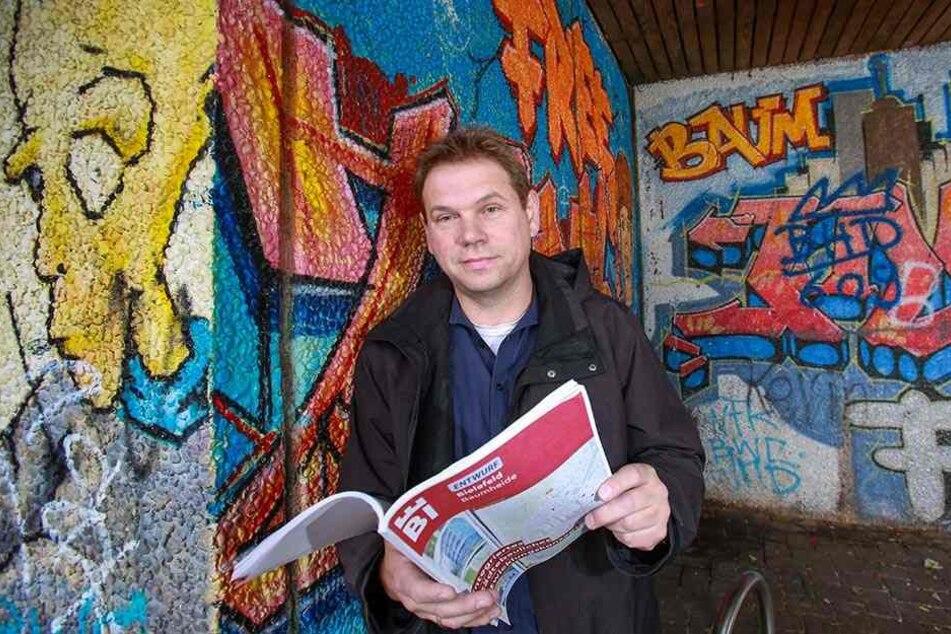 Sven Dodenhoff vom Bauamt hat über ein Jahr mit an dem neuen Entwicklungskonzept gearbeitet.