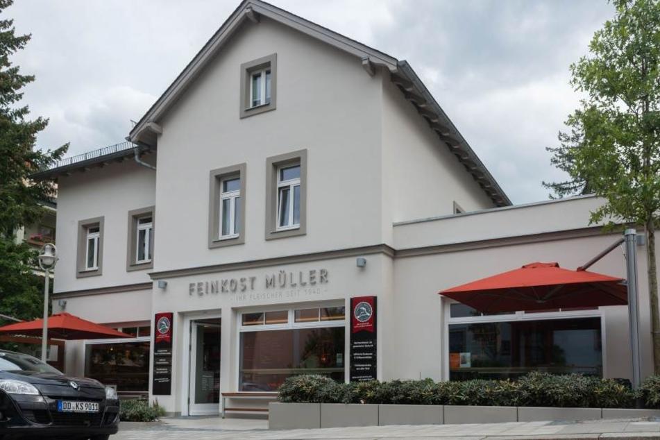 """""""Feinkost Müller"""" am Rißweg ist eine bekanntesten Fleischereien der Stadt."""