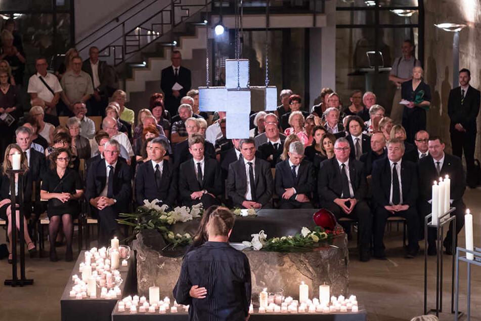 Trauergottesdienst für die Opfer des Busunglücks auf der A9