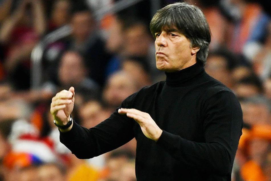 Konnte mit dem Ergebnis gegen die Niederlande (0:3) überhaupt nicht zufrieden sein: DFB-Coach Joachim Löw.