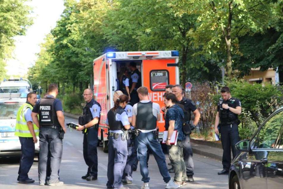 In der Urbanstraße in Berlin sind am Sonntag Schüsse gefallen.