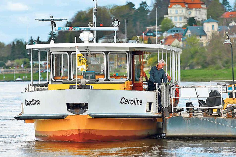 Das Fährschiff ist ab Dienstag außer Betrieb und legt erst wieder am 6. Mai ab.