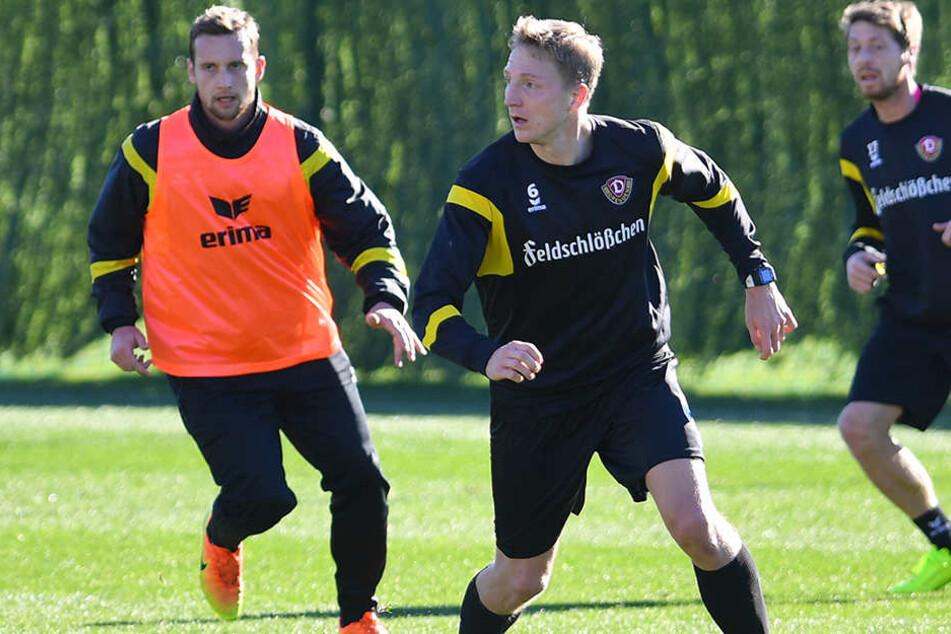Auch im Training geht Marco Hartmann voran.
