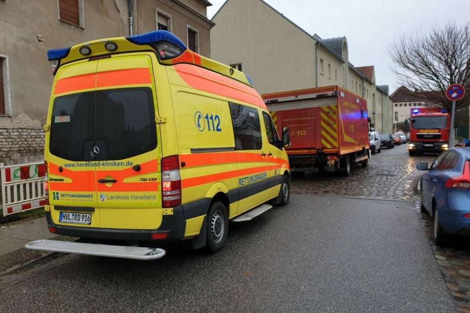 Die Feuerwehr war circa zwei Stunden im Einsatz.