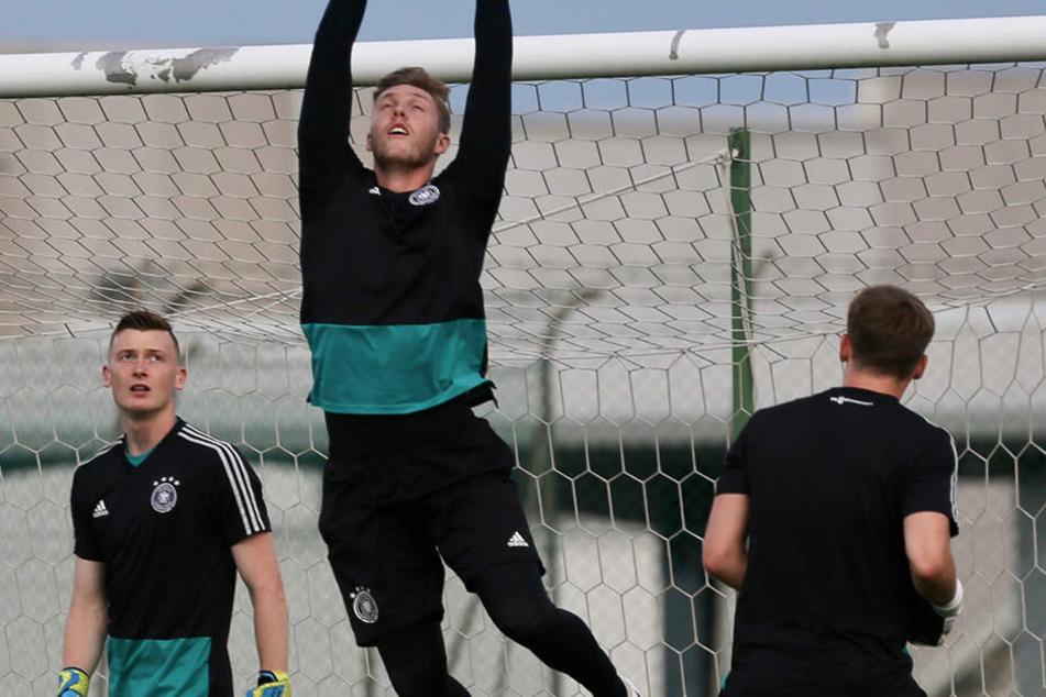 Ab sofort auch Trainingspartner auf Schalke: Markus Schubert und Alexander Nübel.