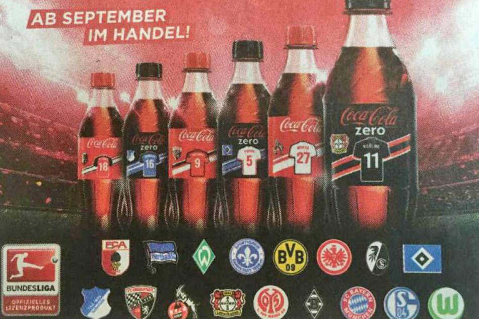 Diese Werbung in der Bild-Zeitung sorgte für Fragezeichen bei den Leipzig-Fans.