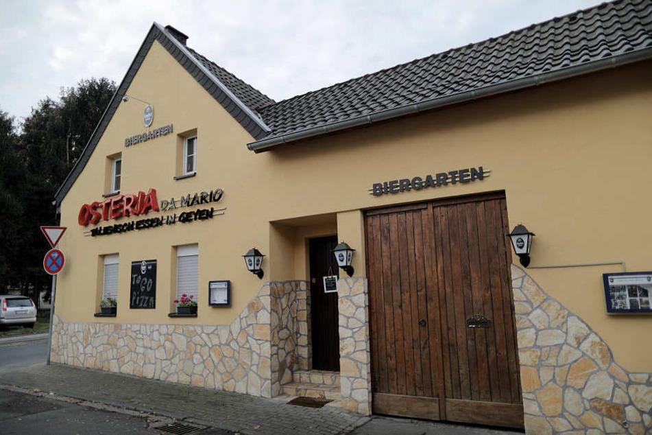Der Besitzer einer Osteria werde der Mitgliedschaft in einer kriminellen Organisation beschuldigt.