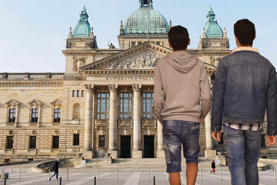 WIe kann das Alter von minderjährigen Flüchtlingen festgestellt werden? Damit beschäftigt sich seit Donnerstag das Bundesverwaltungsgericht in Leipzig.