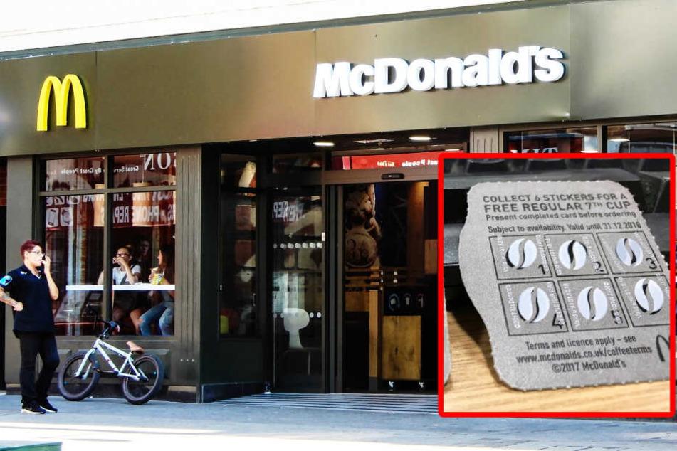 Typ fälscht reihenweise McDonald's-Sammelkarten und fällt dann aus dummem Grund auf