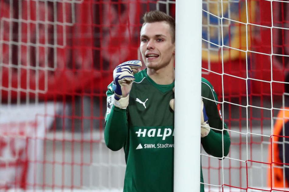 Tom Müller spielt seit seiner Jugend beim Halleschen FC. RB Leipzig baggert jetzt an dem gebürtigen Dessauer.
