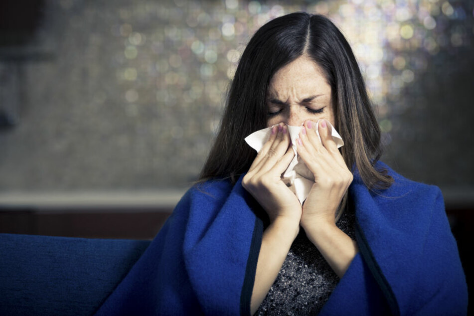 Aufgrund des milden Winters sind in Sachsen bereits Pollen unterwegs.