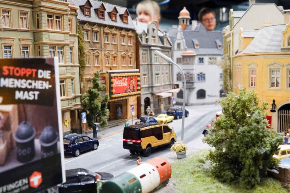 Im Miniatur Wunderland sind auch Szenen aus Hamburg nachgebildet.