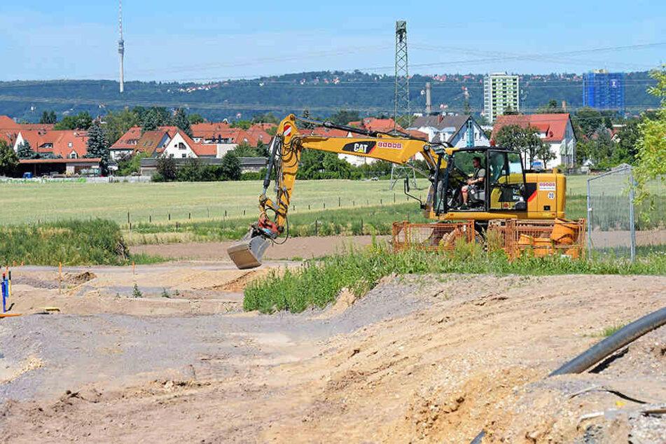"""In Großluga entsteht der """"Kalmusring"""". Der Weg zum Straßennamen ist jedoch lang."""