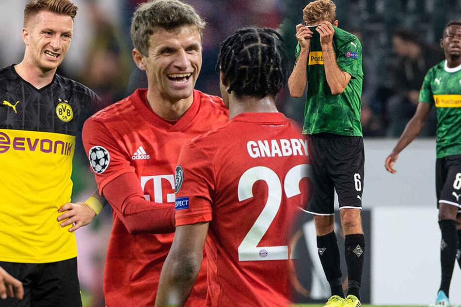 Bundesliga: Vierter Champions-League-Platz nach mäßigem Europa-Auftakt in Gefahr?