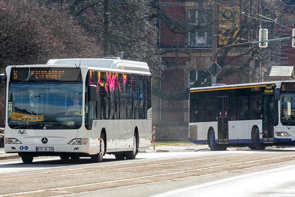 In Gotha fahren seit Jahresanfang zwei Busse zur selben Zeit die selbe Strecke.