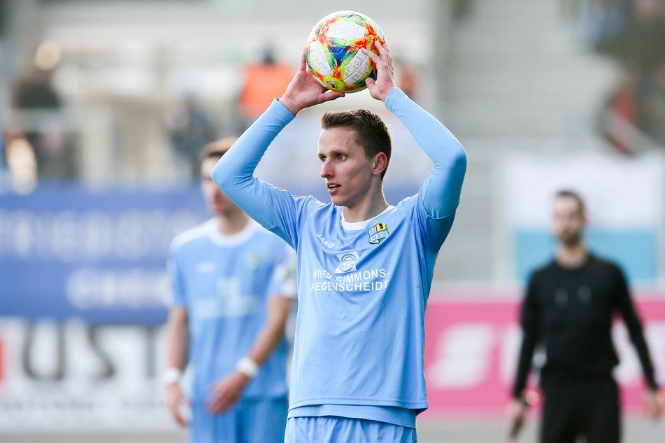 Paul Milde geht mit dem Chemnitzer FC in die 4. Liga.