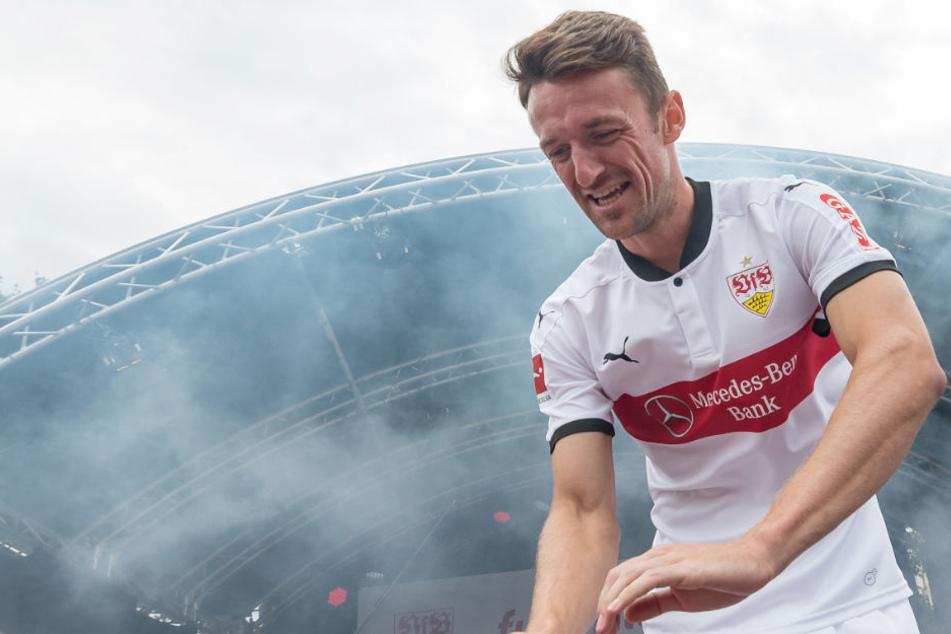 Stuttgarts Kapitän Christian Gentner könnte am Freitag gegen Borussia Dortmund wieder auf dem Platz stehen.