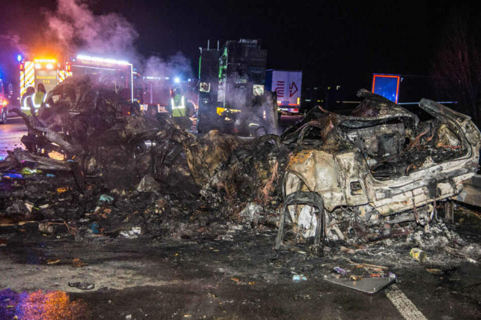 In den Flammen starben zwei Menschen.