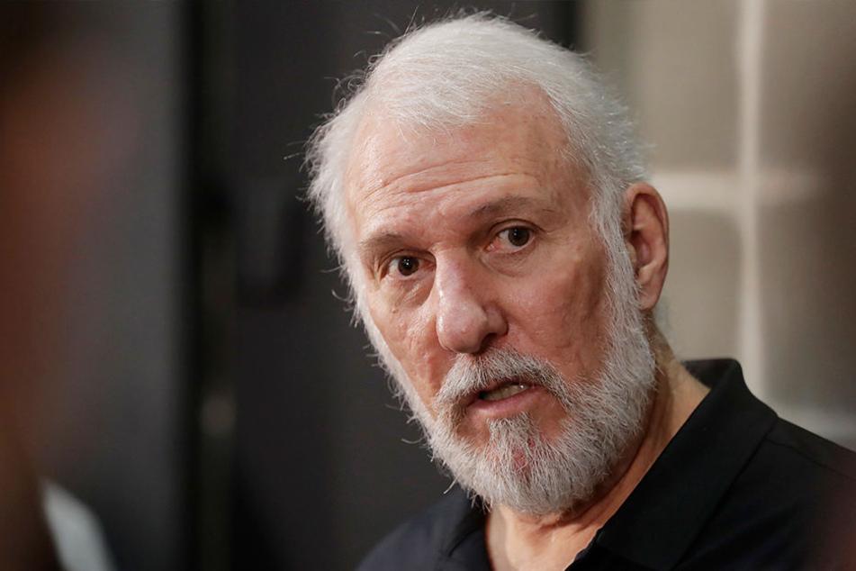 Gregg Popovich (69) war seit über 40 Jahren mit Erin verheiratet.