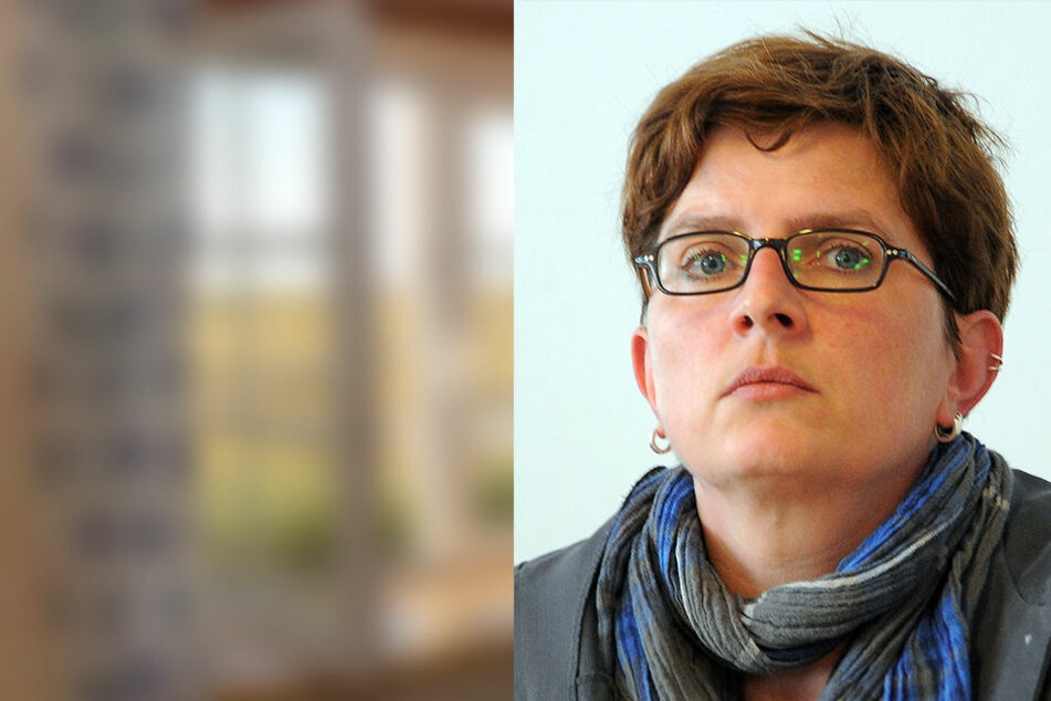 Linken-Abgeordnete Sabine Berninger setzt sich für die dezentrale Unterbringung ein.