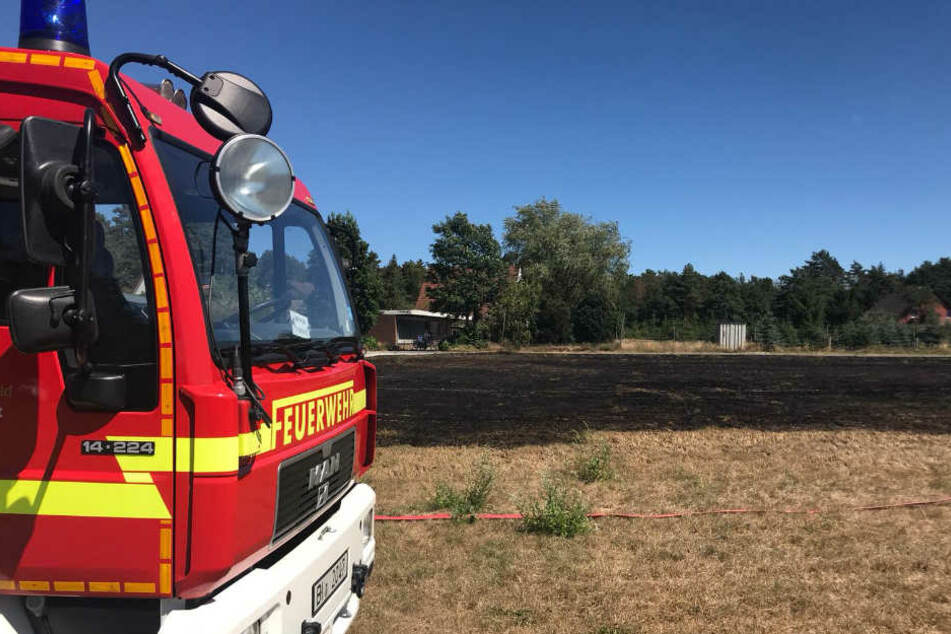 Die Feuerwehr war mit zwei Löschzügen vor Ort.