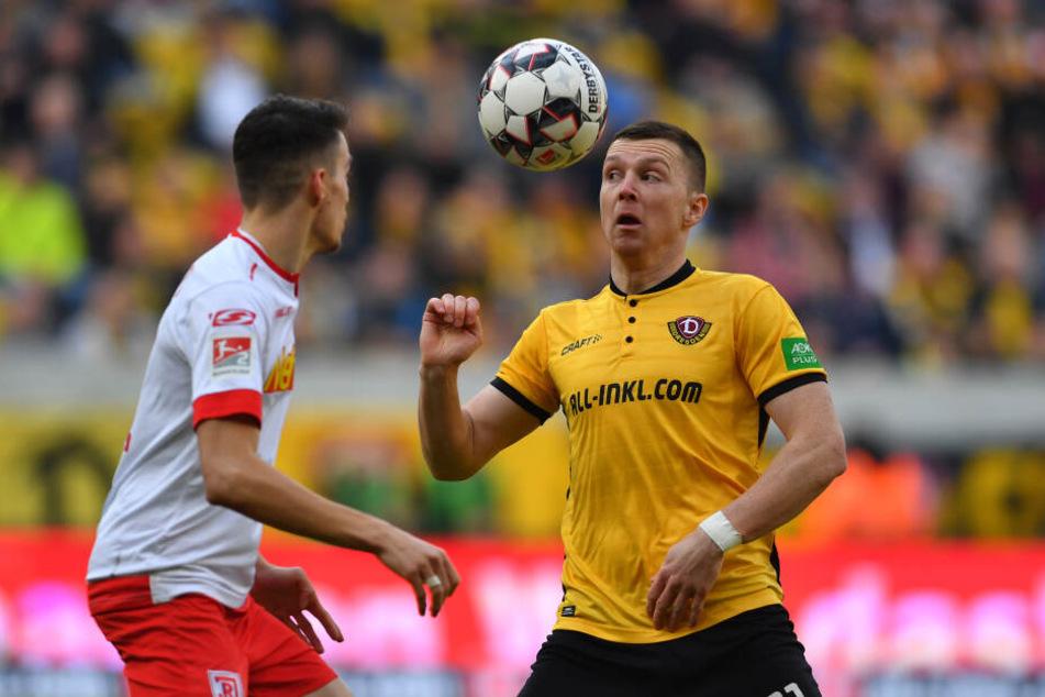Der Ball war stets sein Freund. Haris Duljevic verabschiedet sich aus Dresden.