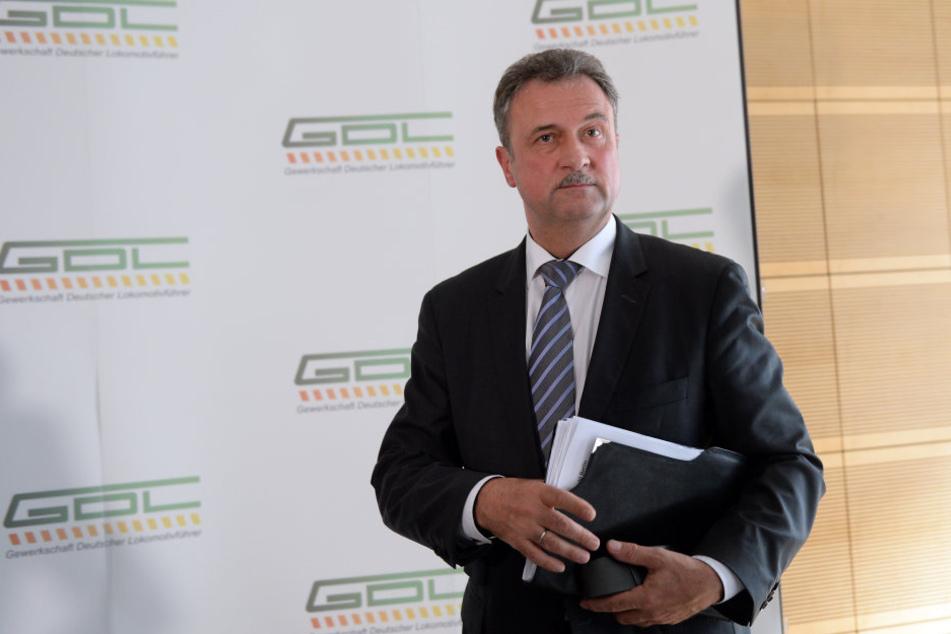 GDL-Chef Claus Weselsky hat neue Tarifforderungen.