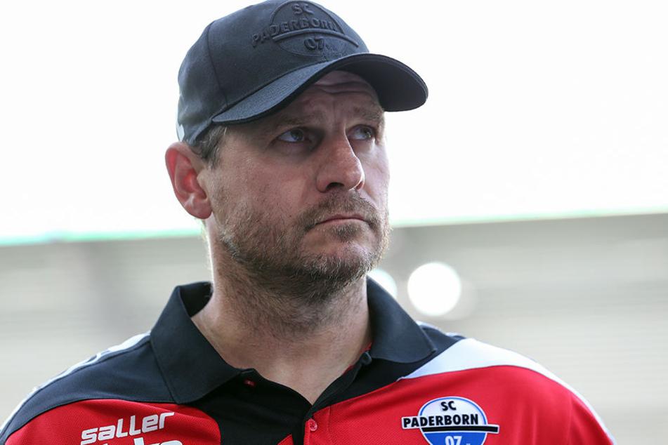 Steffen Baumgart ist mit der Leistung seiner Mannschaft zufrieden.