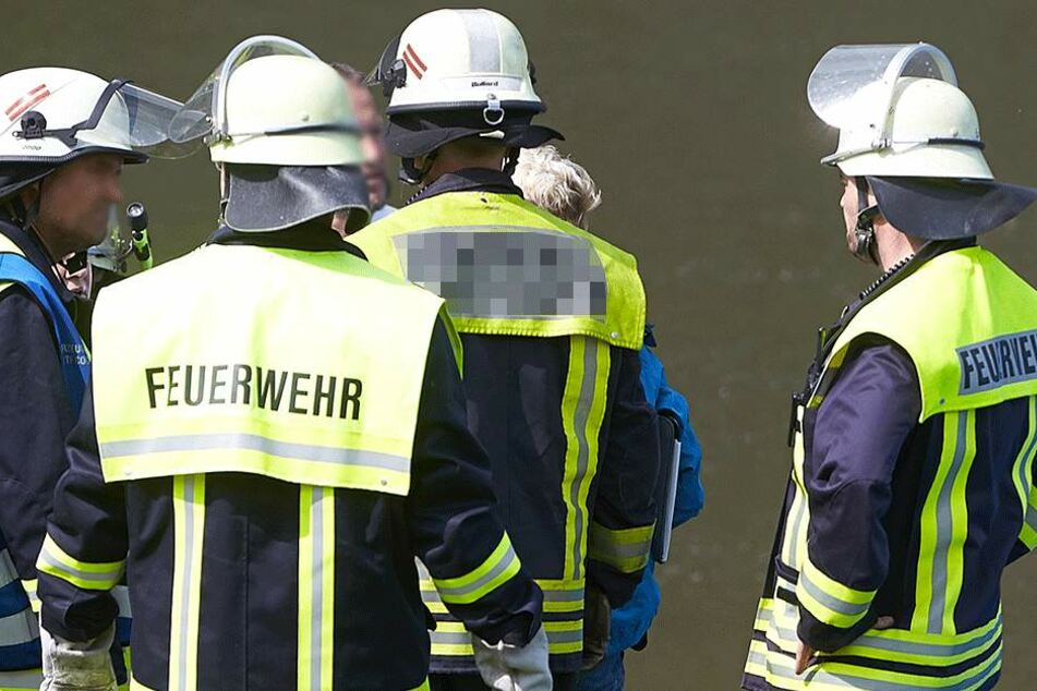 Die Feuerwehr barg die Leiche (Symbolbild).