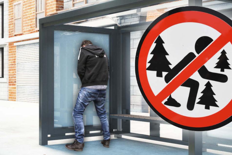 In Böhlendorf stechen bereits Verbotsschilder. Finkenthal baut auf Kamera-Attrappen. (Bildmontage)